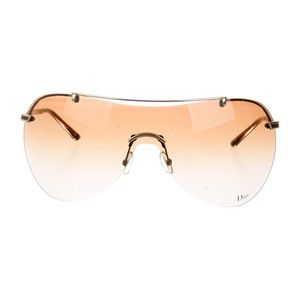 Christian Dior Air 1 gold sunglasses